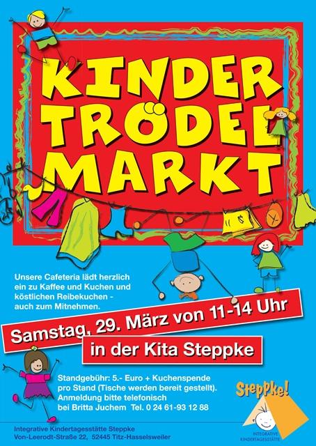 Kita Steppke » Kindertrödelmarkt 2014